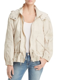 DKNY Donna Karan Hooded Zip Jacket
