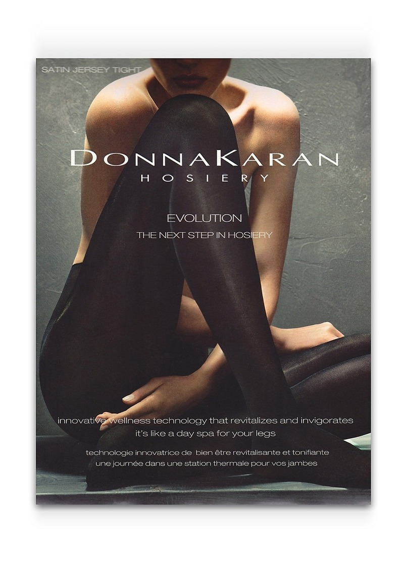 DKNY Donna Karan Hosiery + Evolution Micro-Massaging Opaque Tights