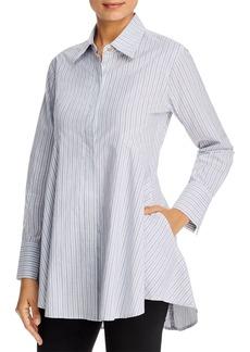 DKNY Donna Karan New York Icon Striped Tunic Blouse