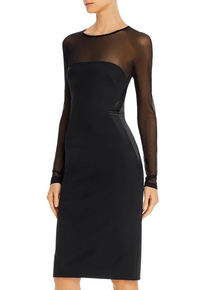 DKNY Donna Karan Illusion Cocktail Dress