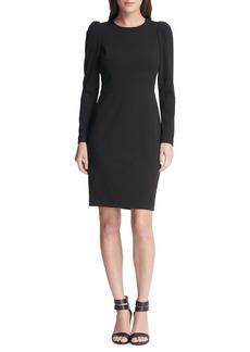 DKNY Donna Karan Juliet-Sleeve Sheath Dress