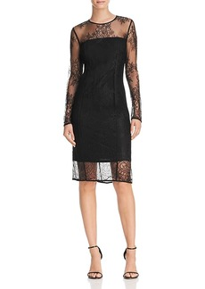 Donna Karan Lace Sheath Dress