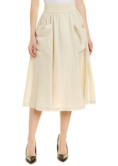 DKNY Donna Karan New York Linen Skirt
