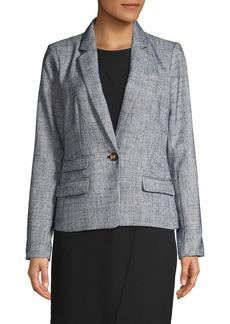 DKNY Donna Karan Long-Sleeve Blazer