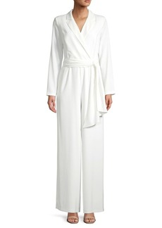 DKNY Donna Karan Long-Sleeve Blazer Jumpsuit