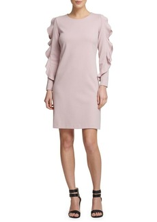DKNY Donna Karan Long-Sleeve Sheath Dress