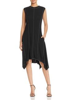 DKNY Donna Karan New York A-Line Handkerchief Dress