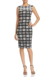 DKNY Donna Karan New York Abstract-Print Sheath Dress
