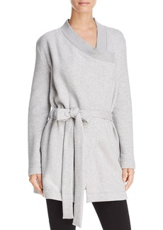 Donna Karan New York Asymmetric Belted Wrap Jacket