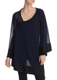 DKNY Donna Karan New York Asymmetric Layered Tunic