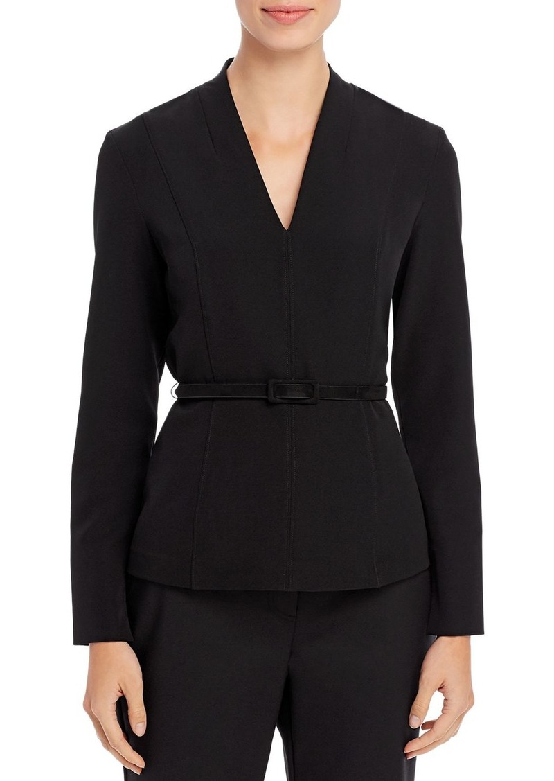 DKNY Donna Karan New York Belted Top