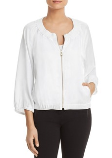 DKNY Donna Karan New York Bomber-Style Jacket