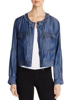 DKNY Donna Karan New York Chambray Jacket