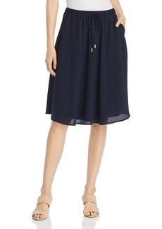 DKNY Donna Karan New York Crepe A-Line Skirt