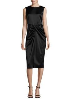 DKNY Drape Front Dress