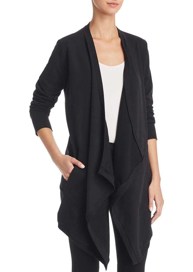 vest draped open cardigans products cardigan sleeveless drapes front drape s aaaaa fashion peach