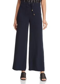 DKNY Donna Karan New York Drawstring Wide-Leg Pants