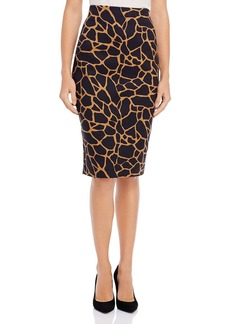 DKNY Donna Karan New York Giraffe-Print Pencil Skirt