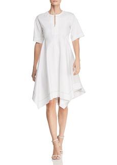 DKNY Donna Karan New York Handkerchief-Hem Shirt Dress