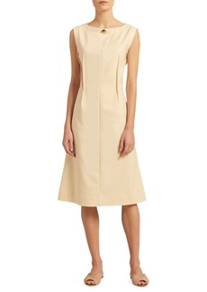 Donna Karan Inverted Dart Sheath Dress