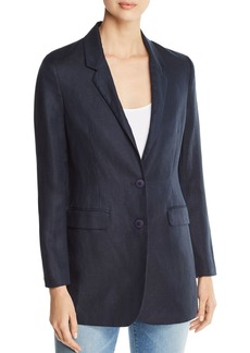 DKNY Donna Karan New York Linen & Cotton Blazer
