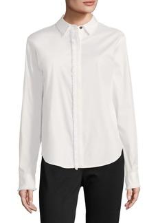 DKNY Long-Sleeve Button-Down Shirt