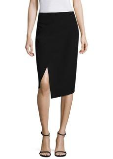 DKNY Midi Wrap Skirt