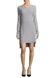 DKNY Mixed Rib-Knit Dress