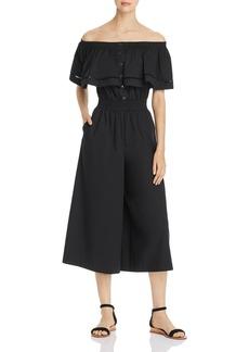 DKNY Donna Karan New York Off-the-Shoulder Jumpsuit