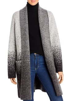 DKNY Donna Karan New York Ombr� Flyaway Sweater Coat