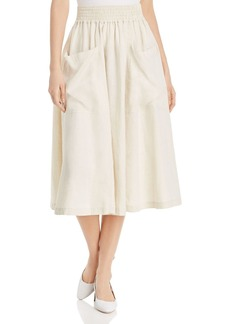 DKNY Donna Karan New York Patch-Pocket Skirt