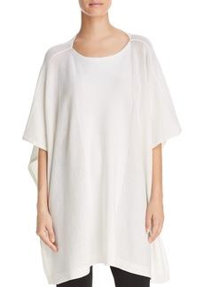 DKNY Donna Karan New York Perforated Elbow-Sleeve Tunic