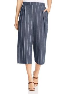 DKNY Donna Karan New York Pinstriped Culottes