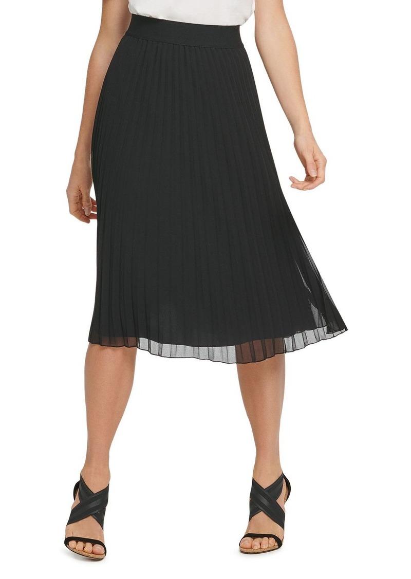 DKNY Donna Karan New York Pull-On Pleated Skirt