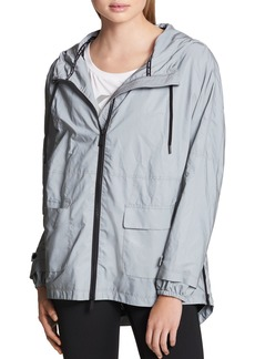 DKNY Donna Karan New York Reflective Rain Jacket