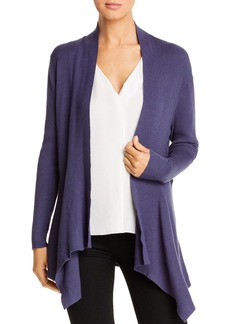 DKNY Donna Karan New York Ribbed Flyaway Cardigan