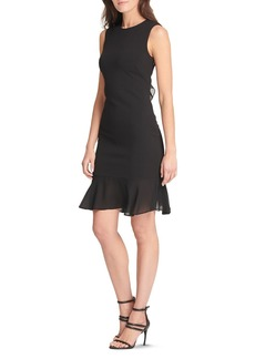 DKNY Donna Karan New York Ruffle-Trimmed Dress
