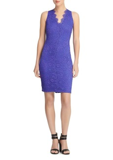 DKNY Donna Karan New York Scalloped Lace Dress