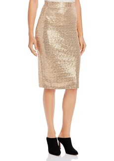 DKNY Donna Karan New York Sequined Midi Skirt