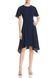 DKNY Donna Karan New York Short Flutter Sleeve Dress