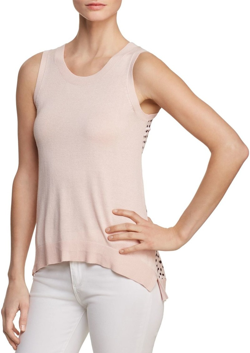 336b93d93c68f DKNY Donna Karan New York Sleeveless Contrast-Back Top Now  32.59
