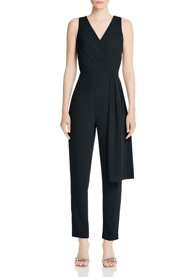 DKNY Donna Karan New York Sleeveless Draped Jumpsuit