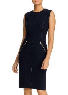 DKNY Donna Karan New York Sleeveless Studded Dress
