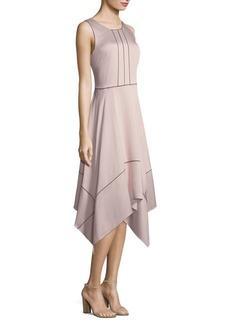 DKNY Sleeveless Trapeze Dress