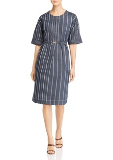 DKNY Donna Karan New York Striped Shift Dress