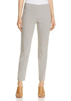 DKNY Donna Karan New York Striped Skinny Pants
