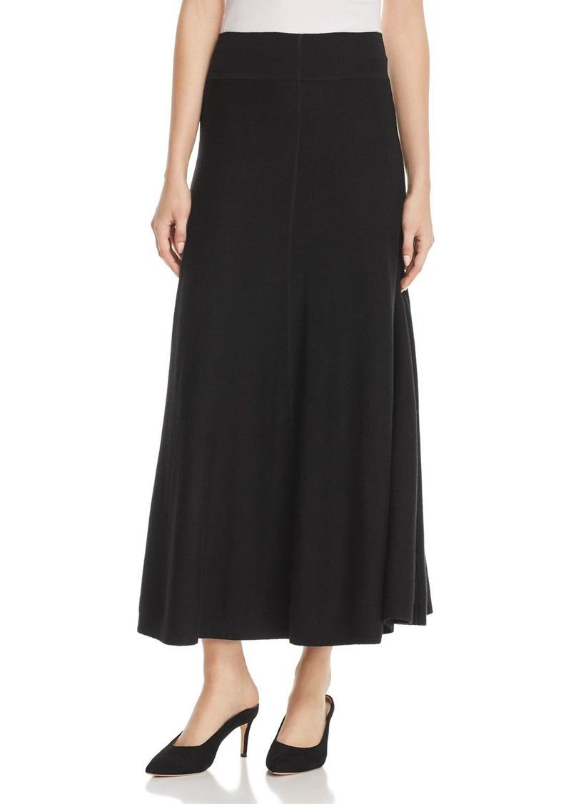 7bf37116b DKNY Donna Karan New York Sweater-Knit Flounce Maxi Skirt | Skirts