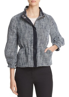 DKNY Donna Karan New York Textured Zip Jacket