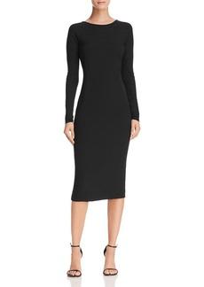 DKNY Donna Karan New York V-Back Sheath Dress