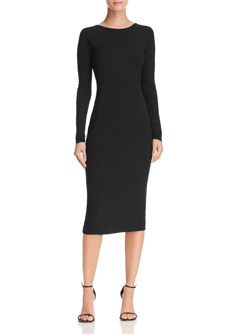 Dkny Donna Karan New York V Back Sheath Dress